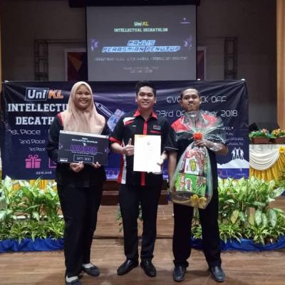UNIKL INTELLECTUAL DECATHLON 2018